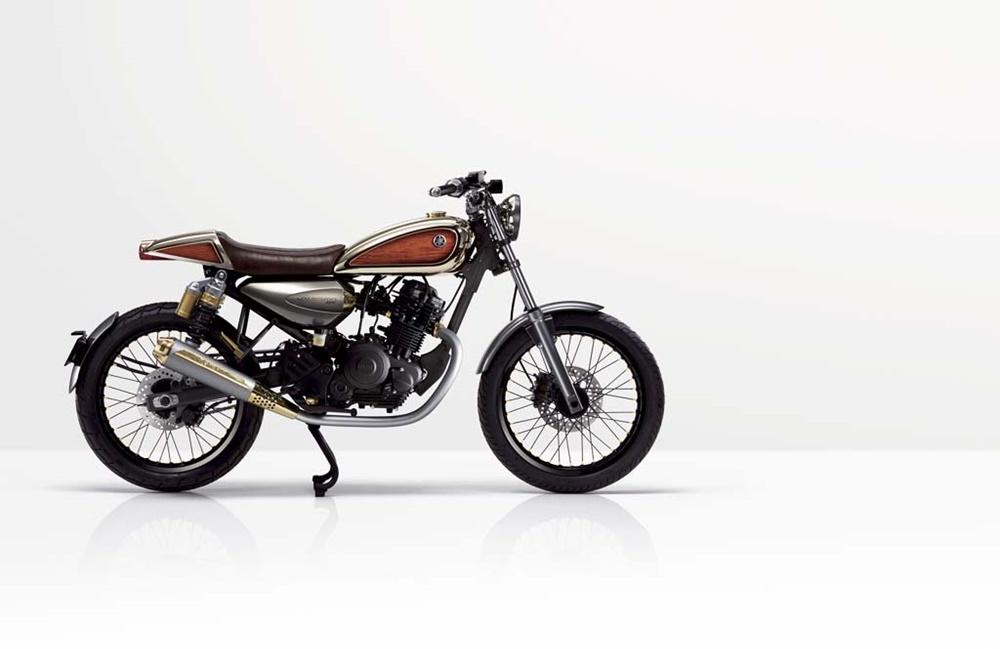 Концепт Yamaha Resonator 125