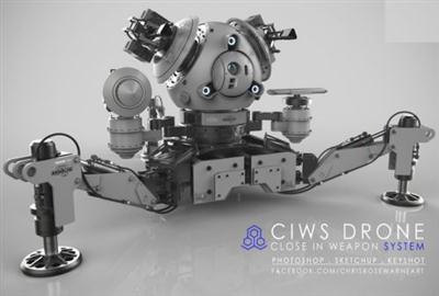 Mech Tutorial - Remote Weapon System by Chris Rosewarne
