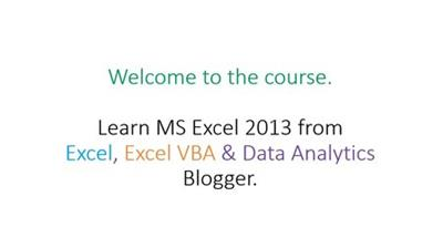 Advanced MS Excel Training Course : Learn Excel with Problems