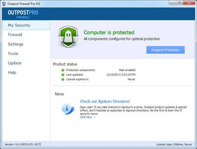 Outpost Firewall Pro 9.3.4934.708.2079 (x86 x64) Multilingual