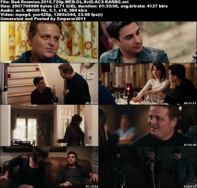 Bad Roomies (2015) 720p WEB-DL XviD AC3-RARBG