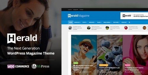 [NULLED] Herald v1.3 - News Portal & Magazine WordPress Theme