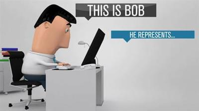 Bob Business Promoter - Project for After Effects (BlueFX)