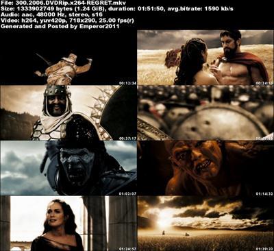 300 (2006) DVDRip x264-REGRET