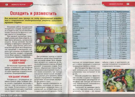 Сад, огород - кормилец и лекарь. Спецвыпуск №20 (октябрь 2015)