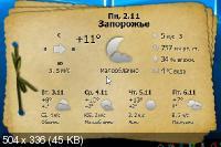 Gis Weather 0.7.8 - покажет погоду на несколько суток