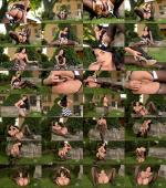 HotLegsAndFeet/DDFNetwork - Lucy Li - Ben Wa Balls And Nylons: Teen Girl Enjoys Outdoor Foot Play (HD/1.07 GiB)