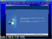 Realtek High Definition Audio Drivers 6.0.1.7673 Vista/7/8.x/10 WHQL