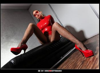Red Latex Star RedOptics.com