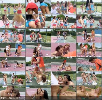 Lady D, Chrissy Fox, Ana Rose, Antonia Sainz - This Aint Wimbledon 2015 [ClubSevenTeen] (FullHD 1080p|MP4|1.59 GB|2015)