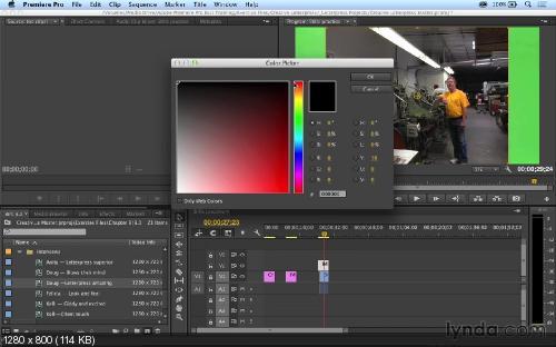 [Lynda.com] Premiere Pro CC - Основной курс - [2 часть]