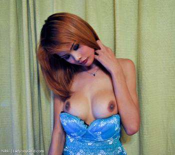 Nikki - Blue Dress Hottie