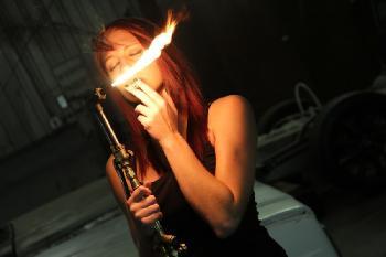Mercedez - Fire in the Garage