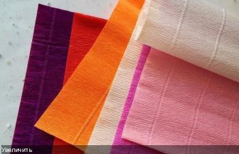 Цветы из гофрированой бумаги 4ca0bceb786529e1679306551151fd3d