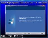 Realtek High Definition Audio Drivers 6.0.1.7750 Vista/7/8.x/10