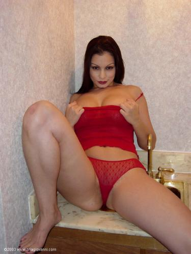 0011 am Red Lingerie
