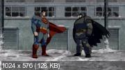 Темный рыцарь: Возрождение легенды : Дилогия / Batman: The Dark Knight Returns : Dilogy (2012-2013) (BDRip-AVC) 60 fps