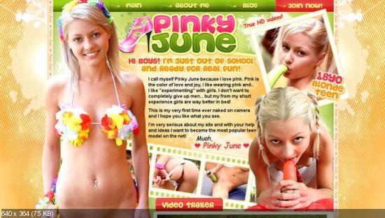 PinkyJune – SiteRip