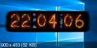 Nixie Clock 1.0.0.0 - часы на рабочий стол Windows