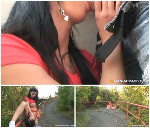 OldPerverts / Maniacpass - E062 Outdoor Bj And Shaved Cunt Fuck (2012/SD)