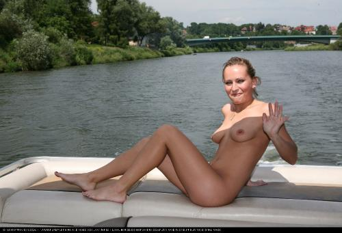 Relaxing On The Boat 1