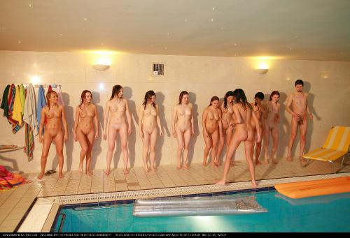 Girls Pool Party Exercise